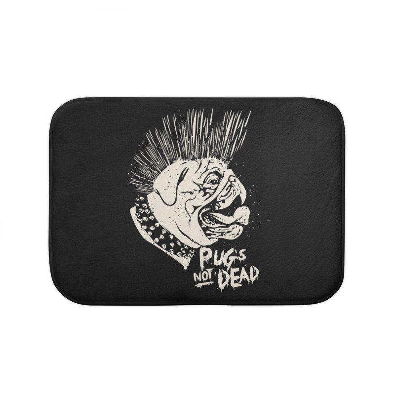 pug's not dead Home Bath Mat by SOE