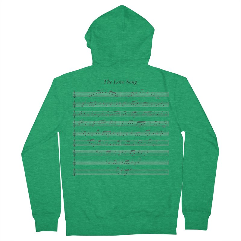 the love song Women's French Terry Zip-Up Hoody by SOE