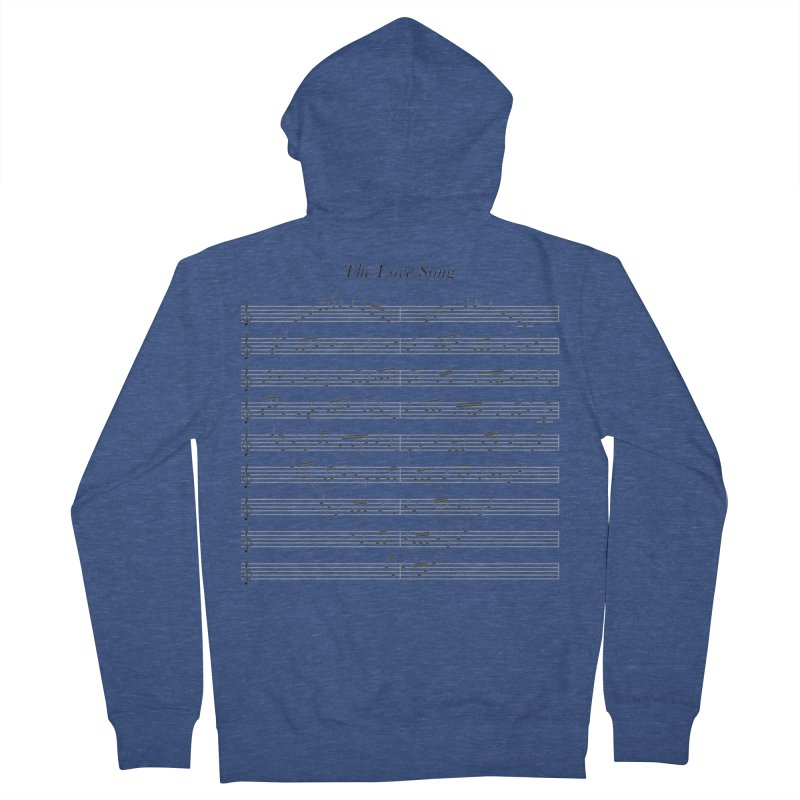 the love song Men's Zip-Up Hoody by SOE