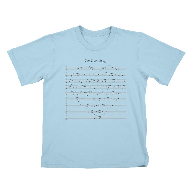 the love song Kids T-Shirt by SOE