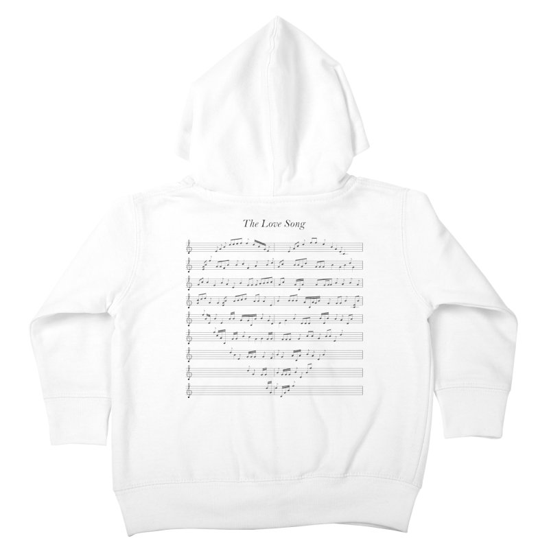 the love song Kids Toddler Zip-Up Hoody by SOE