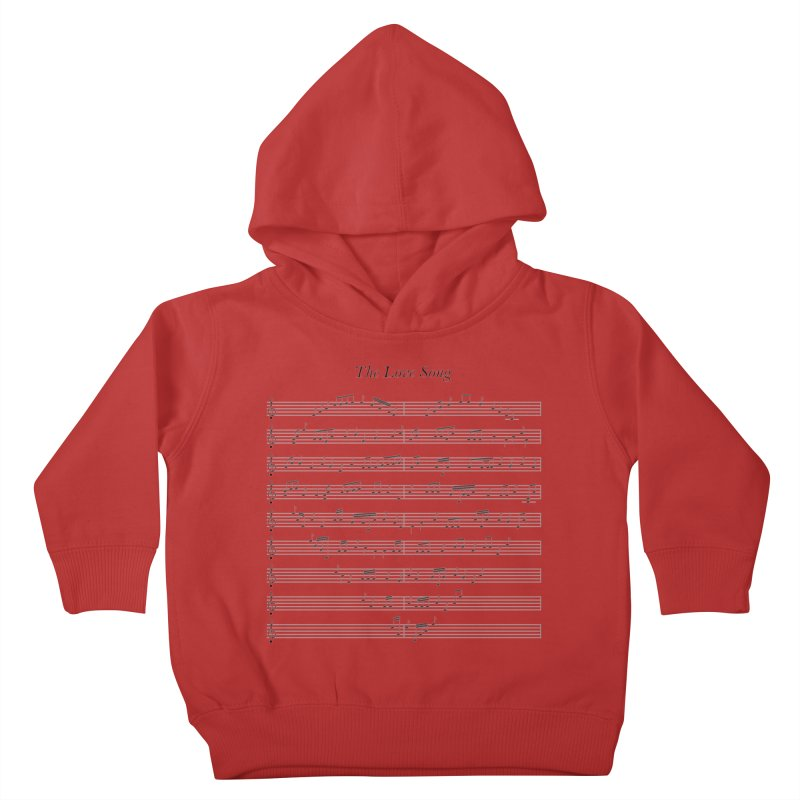 the love song Kids Toddler Pullover Hoody by SOE
