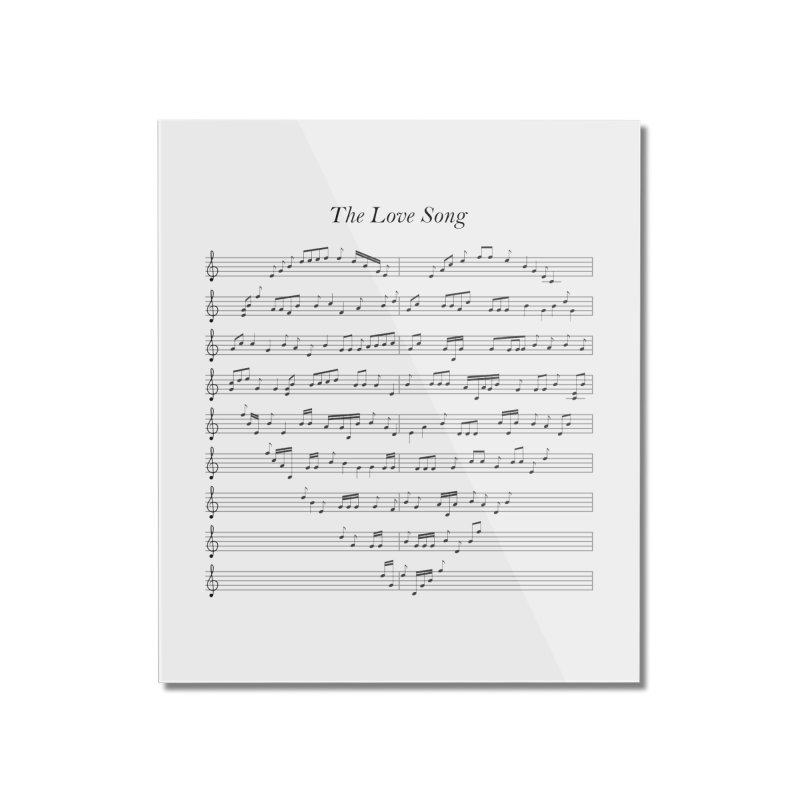 the love song Home Mounted Acrylic Print by SOE