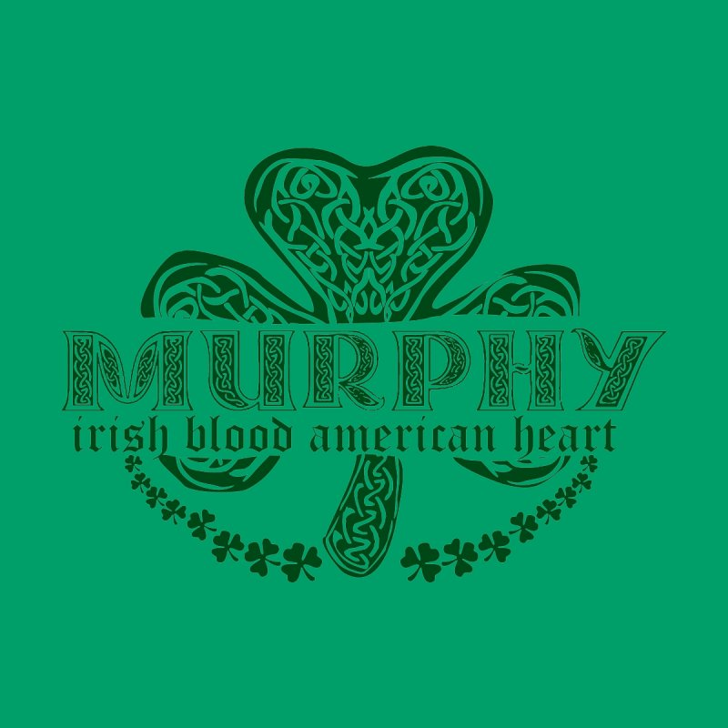 murphy irish proud american heart by SOE