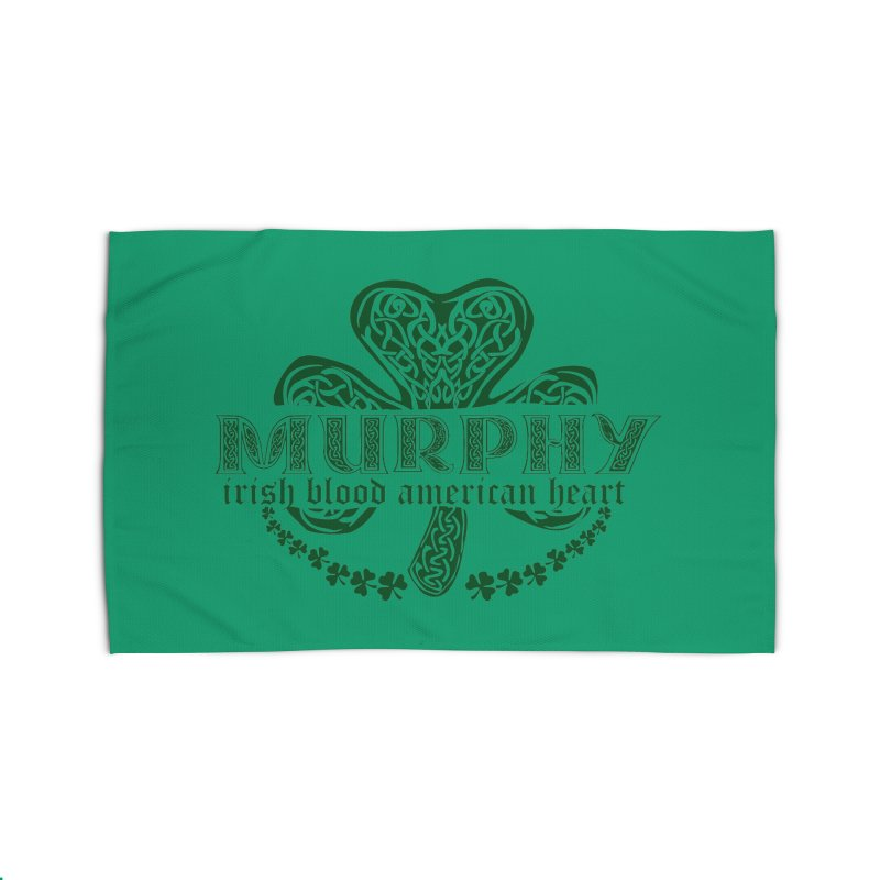 murphy irish proud american heart Home Rug by SOE
