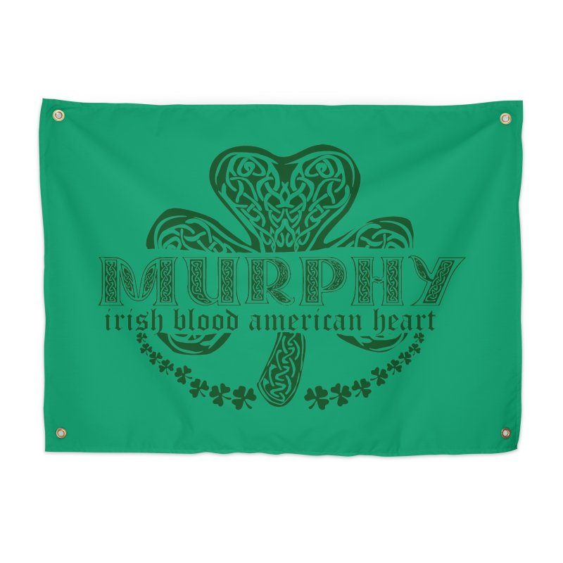 murphy irish proud american heart Home Tapestry by SOE