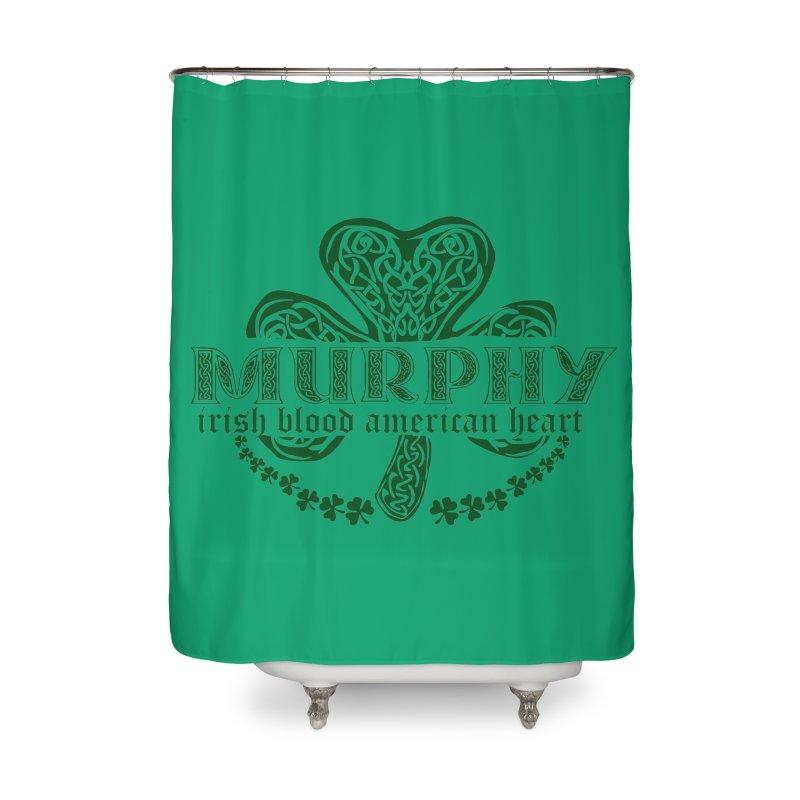 murphy irish proud american heart Home Shower Curtain by SOE