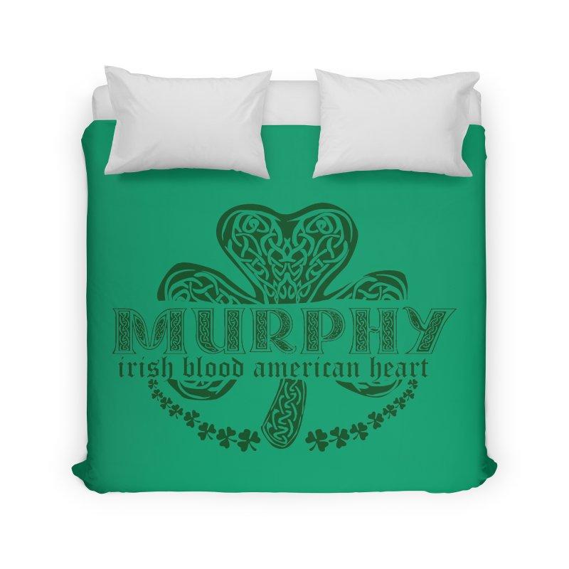 murphy irish proud american heart Home Duvet by SOE
