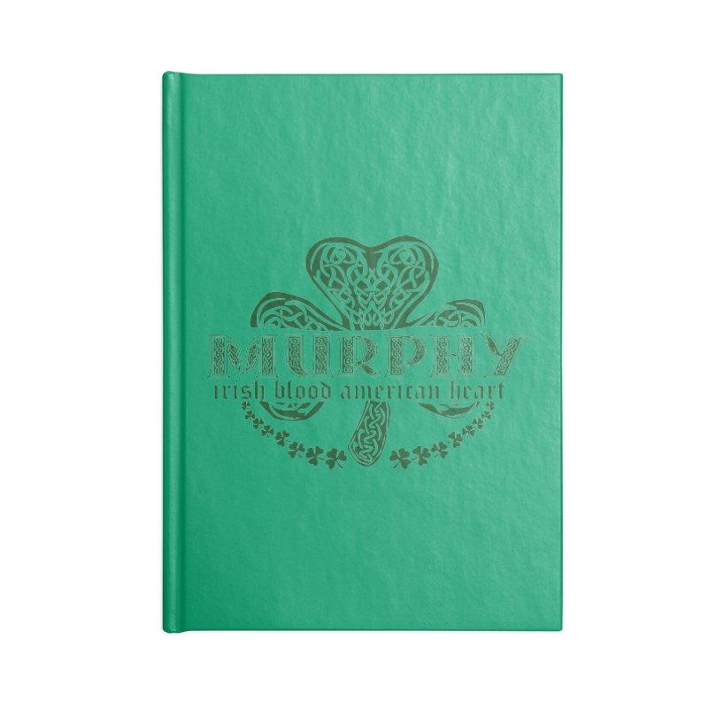 murphy irish proud american heart Accessories Notebook by SOE