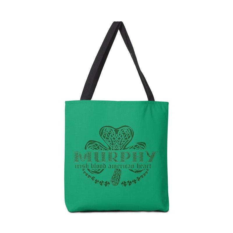 murphy irish proud american heart Accessories Bag by SOE