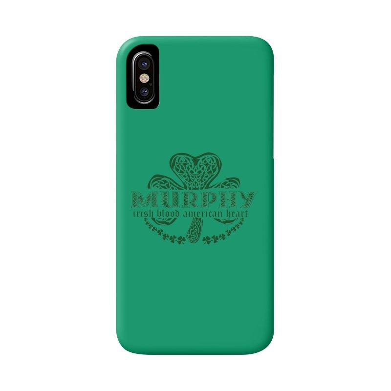murphy irish proud american heart Accessories Phone Case by SOE