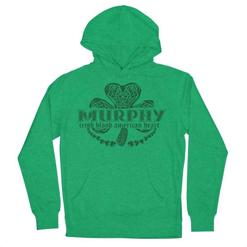 murphy irish proud american heart Men's French Terry Pullover Hoody by SOE