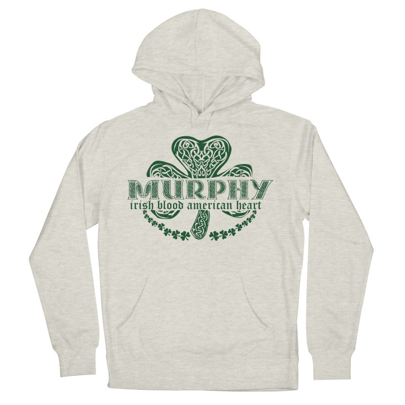 murphy irish proud american heart Men's Pullover Hoody by SOE