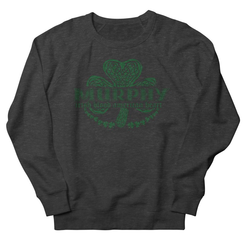 murphy irish proud american heart Men's Sweatshirt by SOE