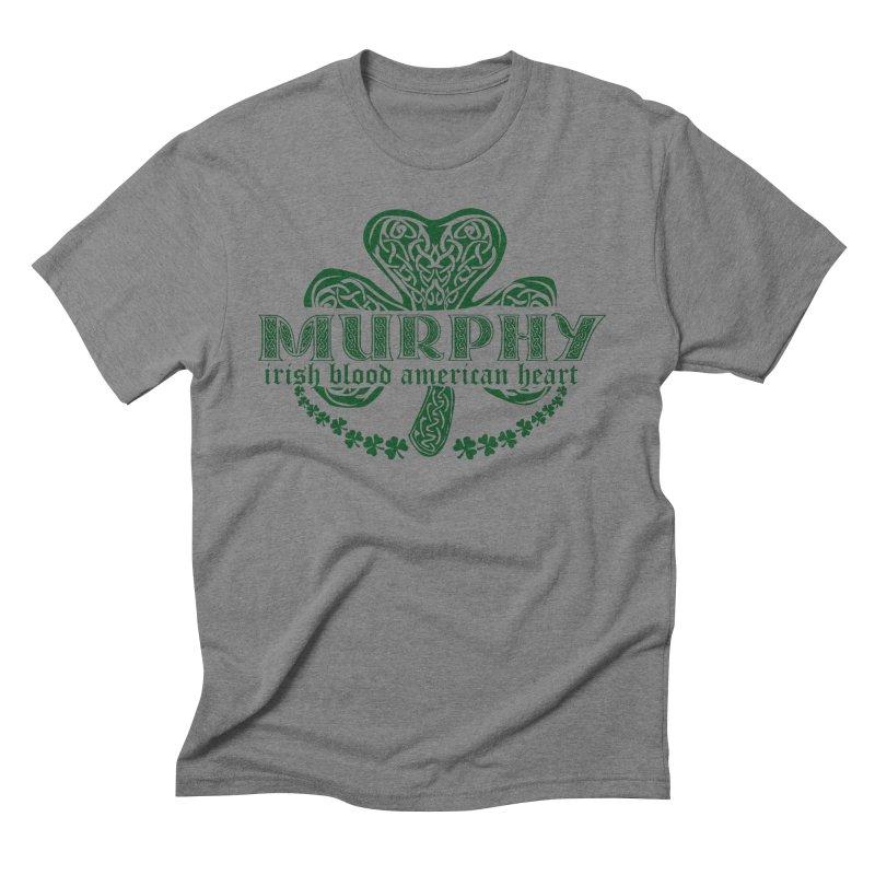 murphy irish proud american heart Men's T-Shirt by SOE