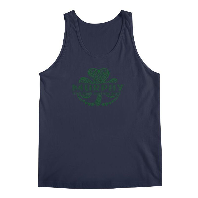 murphy irish proud american heart Men's Regular Tank by SOE