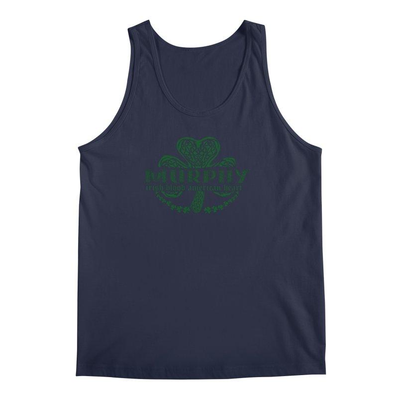 murphy irish proud american heart Men's Regular Tank by SOE