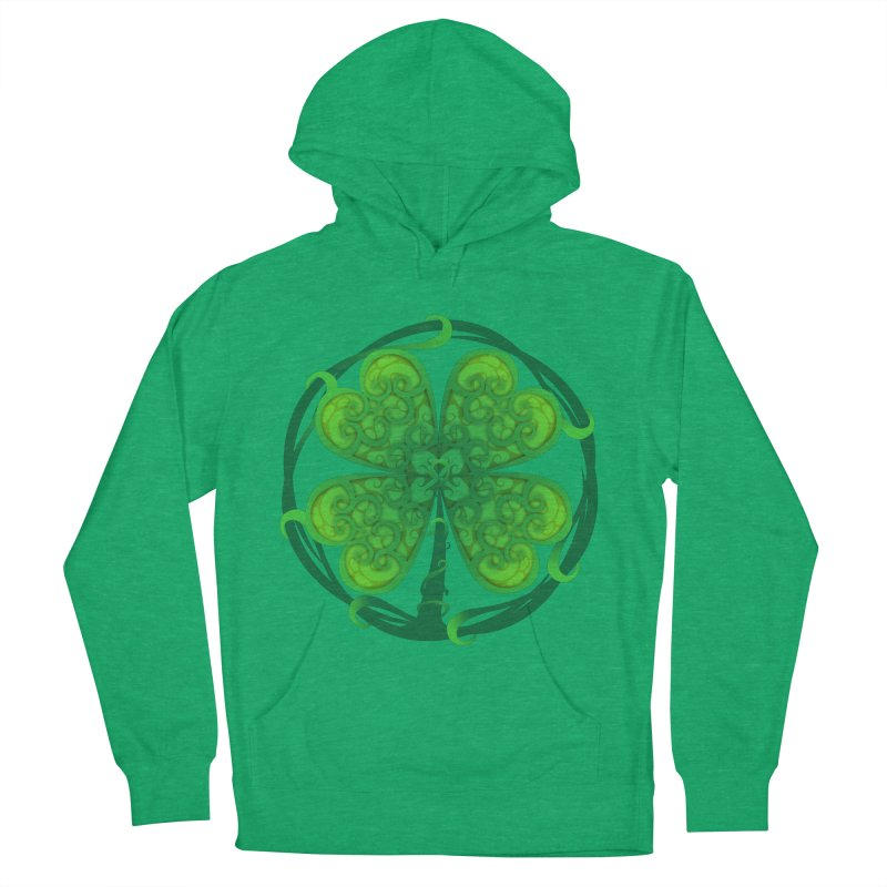 shamrock leaf Women's Pullover Hoody by SOE