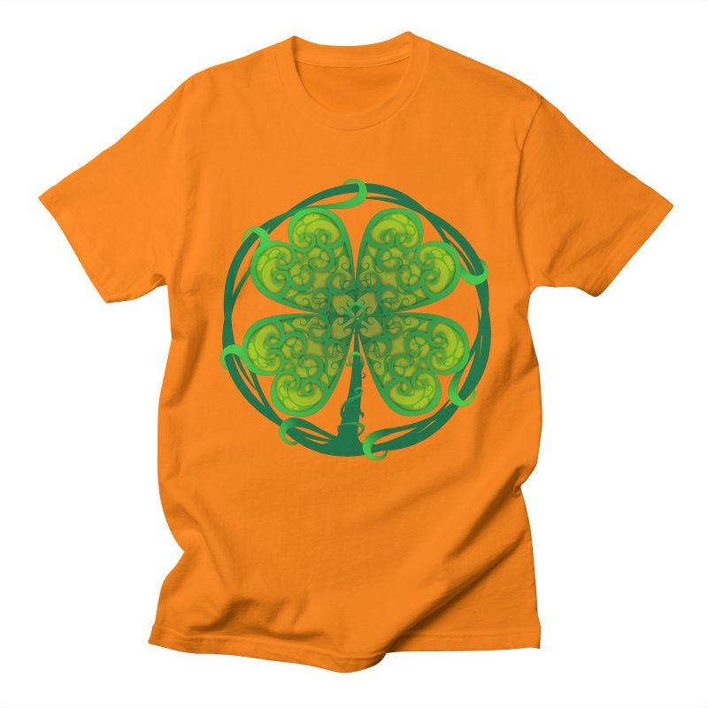 shamrock leaf Men's T-shirt by SOE