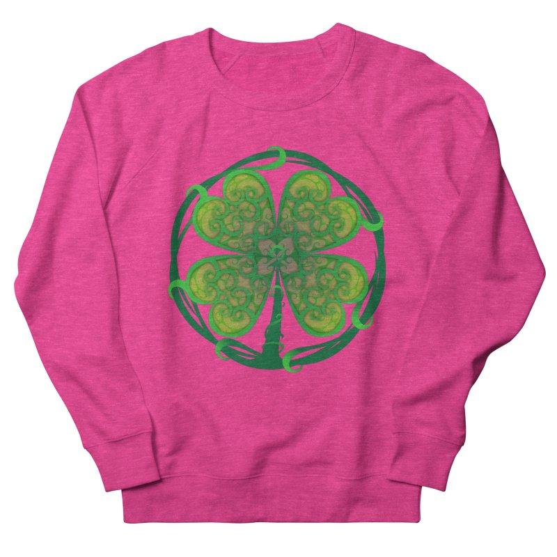 shamrock leaf Women's Sweatshirt by SOE