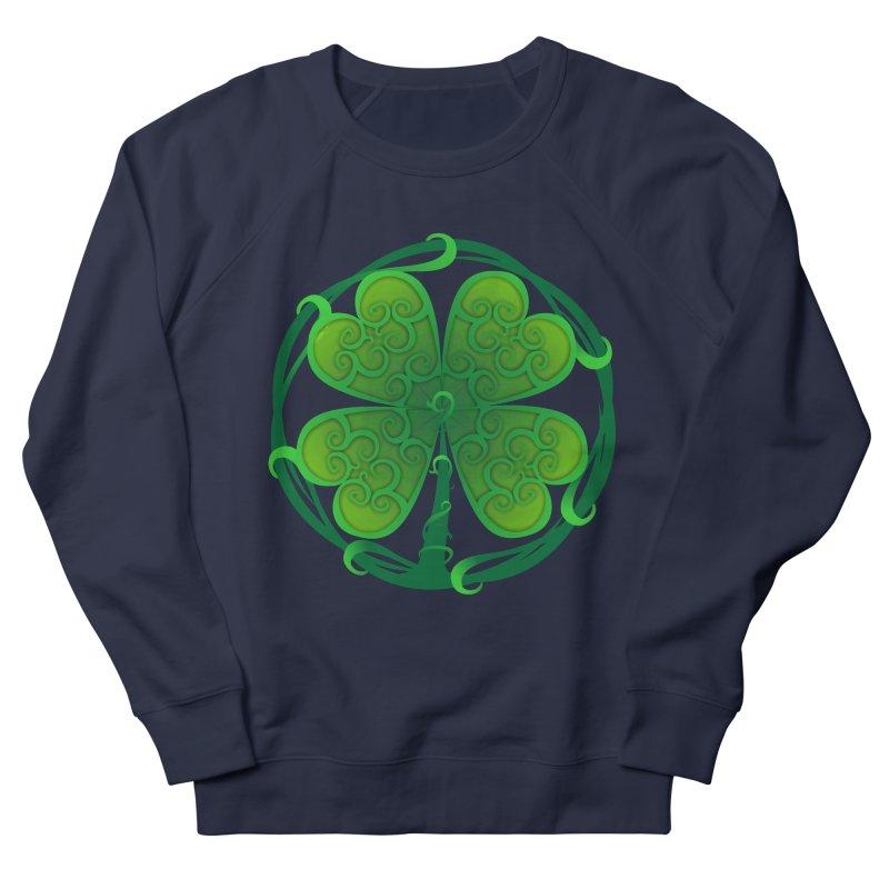 shamrock leaf Women's French Terry Sweatshirt by SOE