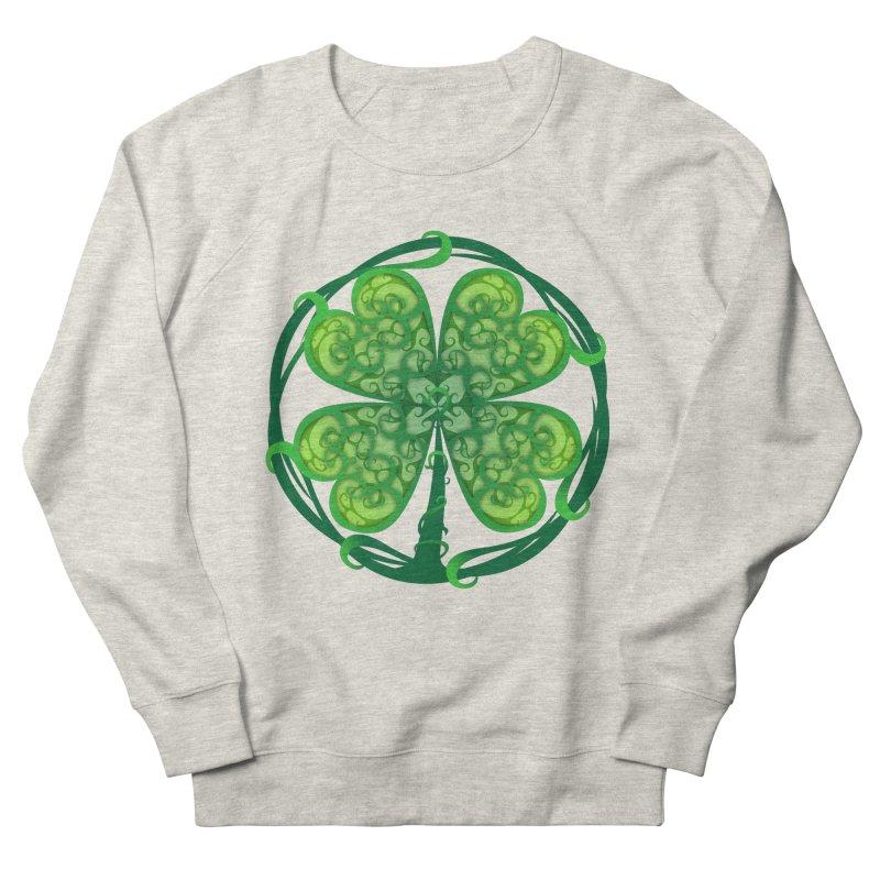 shamrock leaf Men's Sweatshirt by SOE