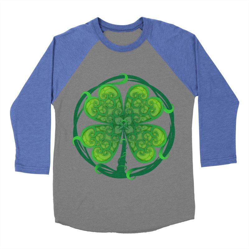 shamrock leaf Women's Baseball Triblend Longsleeve T-Shirt by SOE