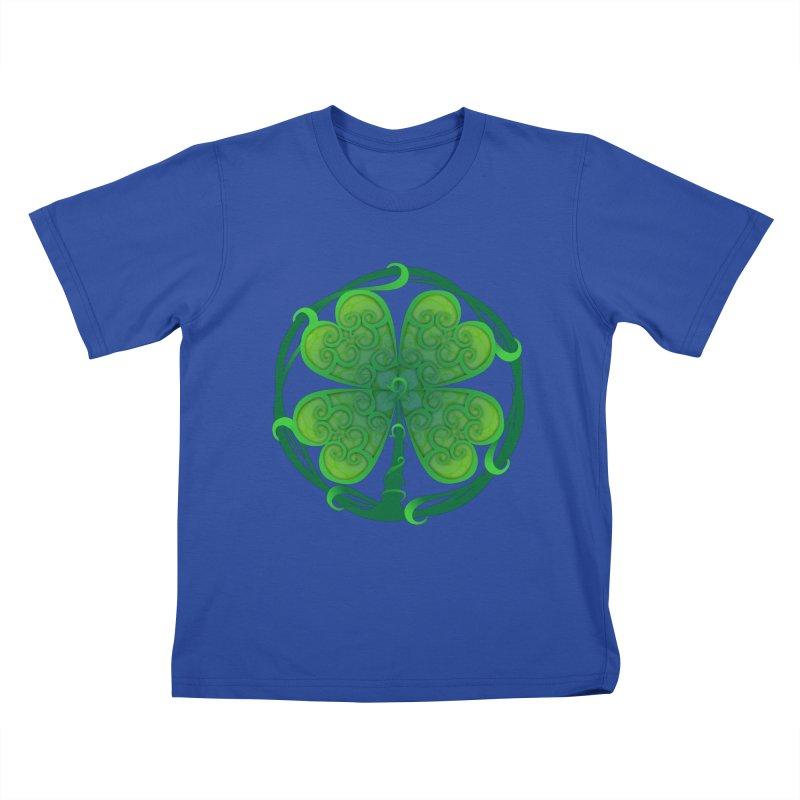 shamrock leaf Kids T-shirt by SOE