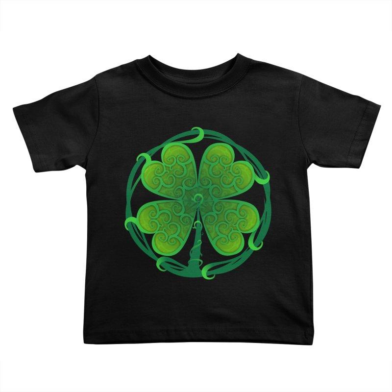 shamrock leaf Kids Toddler T-Shirt by SOE