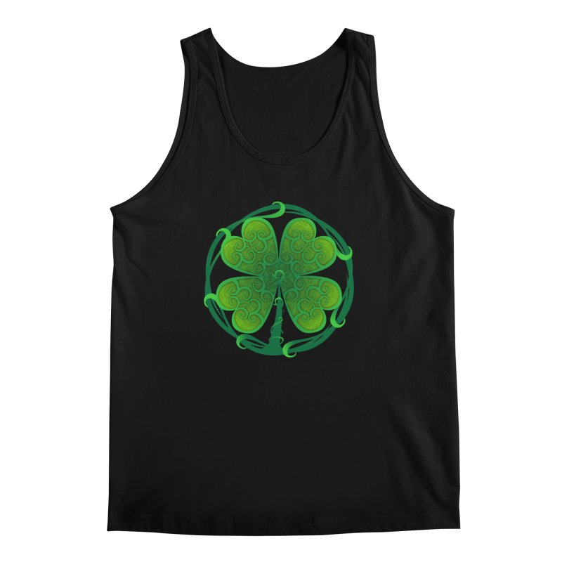 shamrock leaf Men's Tank by SOE