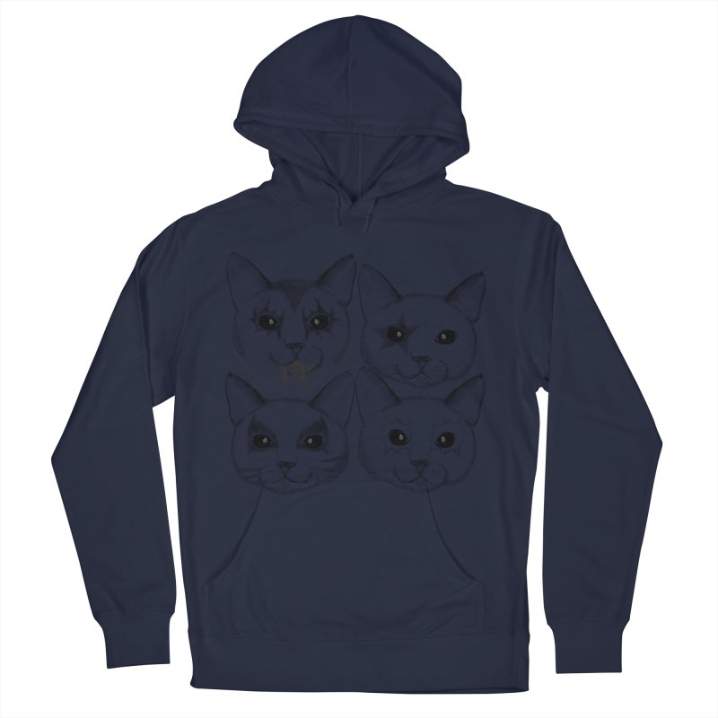 kiss cat Women's Pullover Hoody by SOE