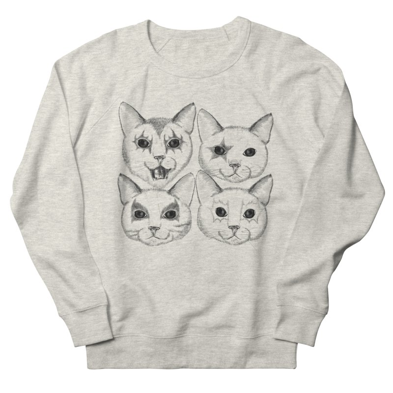 kiss cat Women's Sweatshirt by SOE