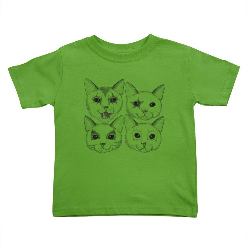 kiss cat Kids Toddler T-Shirt by SOE
