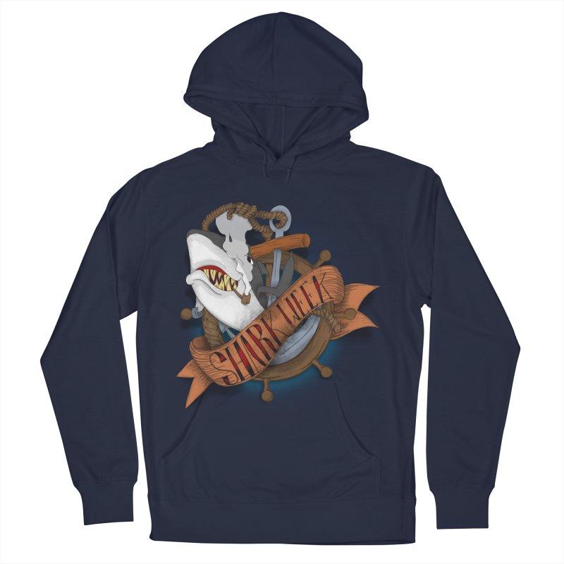 shark week oldskool Women's Pullover Hoody by SOE