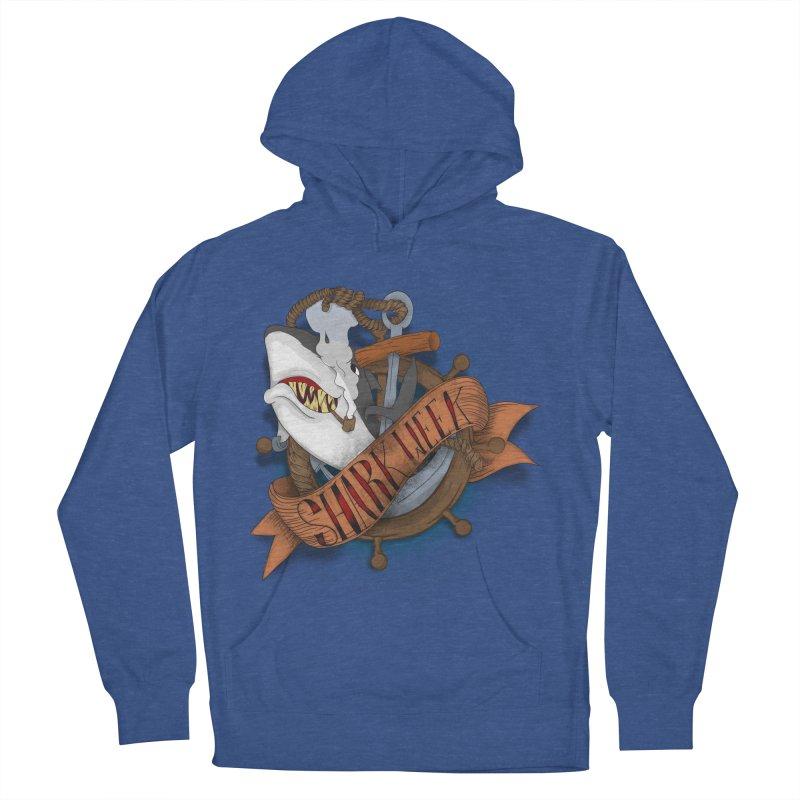 shark week oldskool Men's Pullover Hoody by SOE