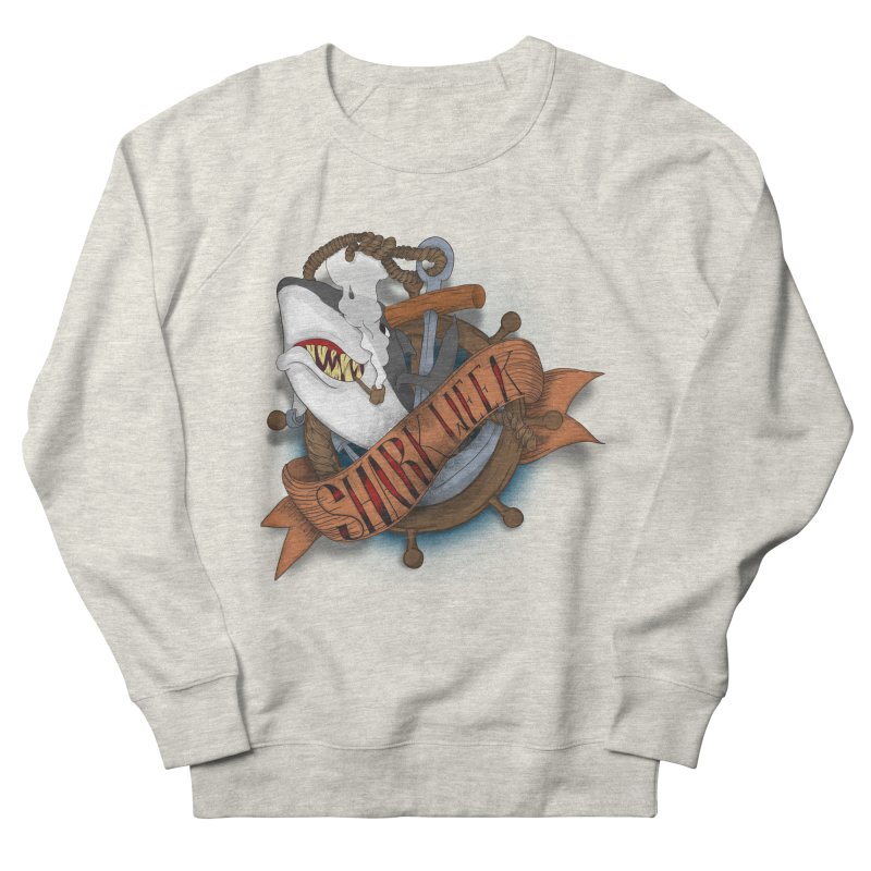 shark week oldskool Men's Sweatshirt by SOE