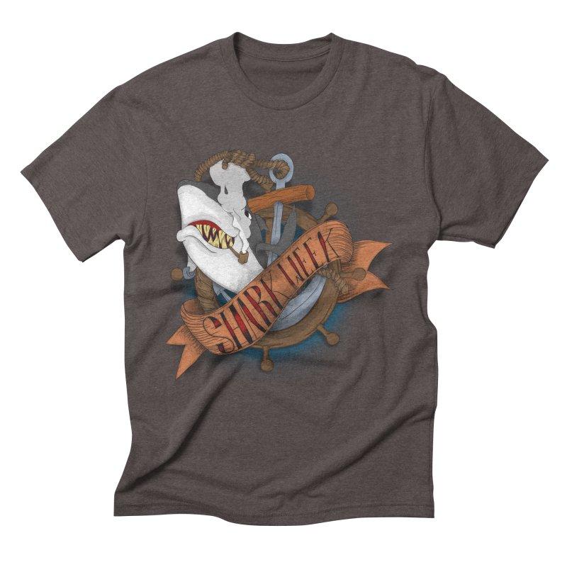 shark week oldskool Men's Triblend T-Shirt by SOE