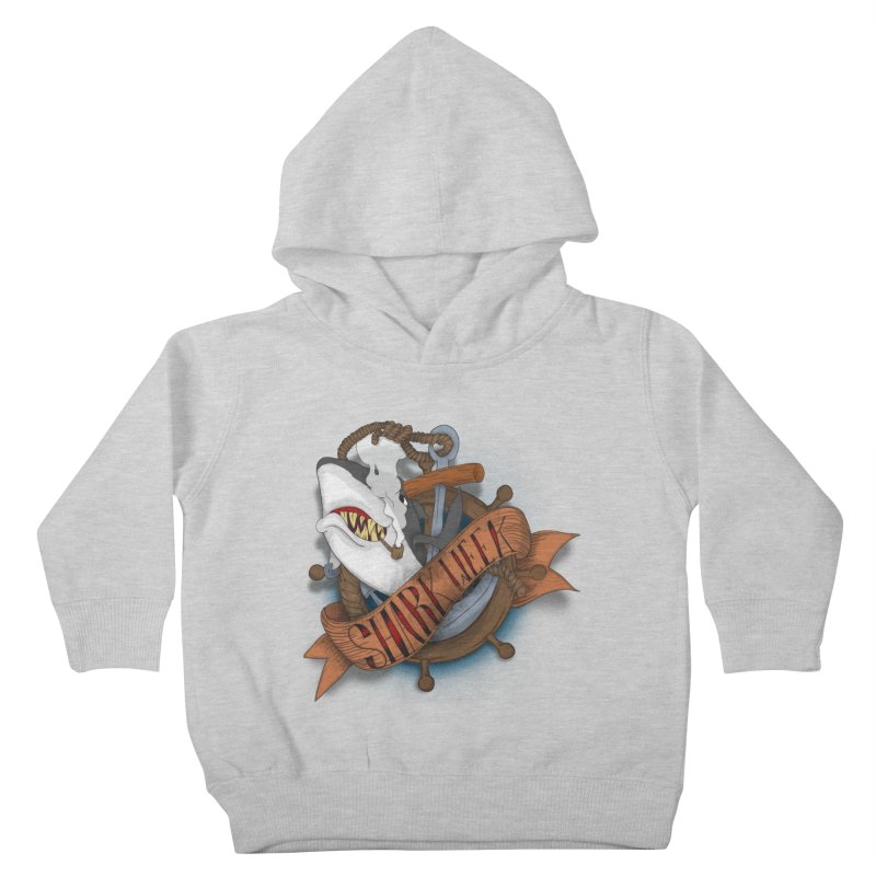 shark week oldskool Kids Toddler Pullover Hoody by SOE