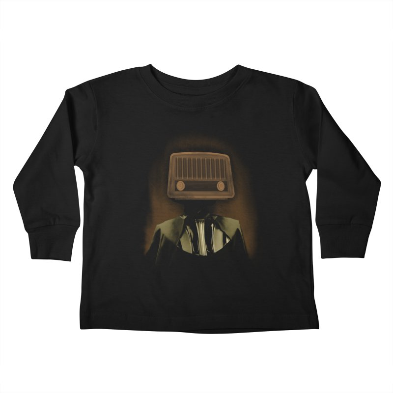 redio head Kids Toddler Longsleeve T-Shirt by SOE