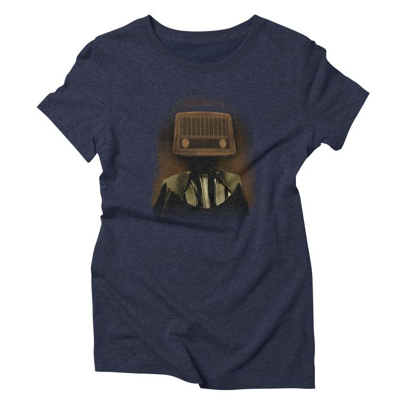 redio head Women's Triblend T-Shirt by SOE