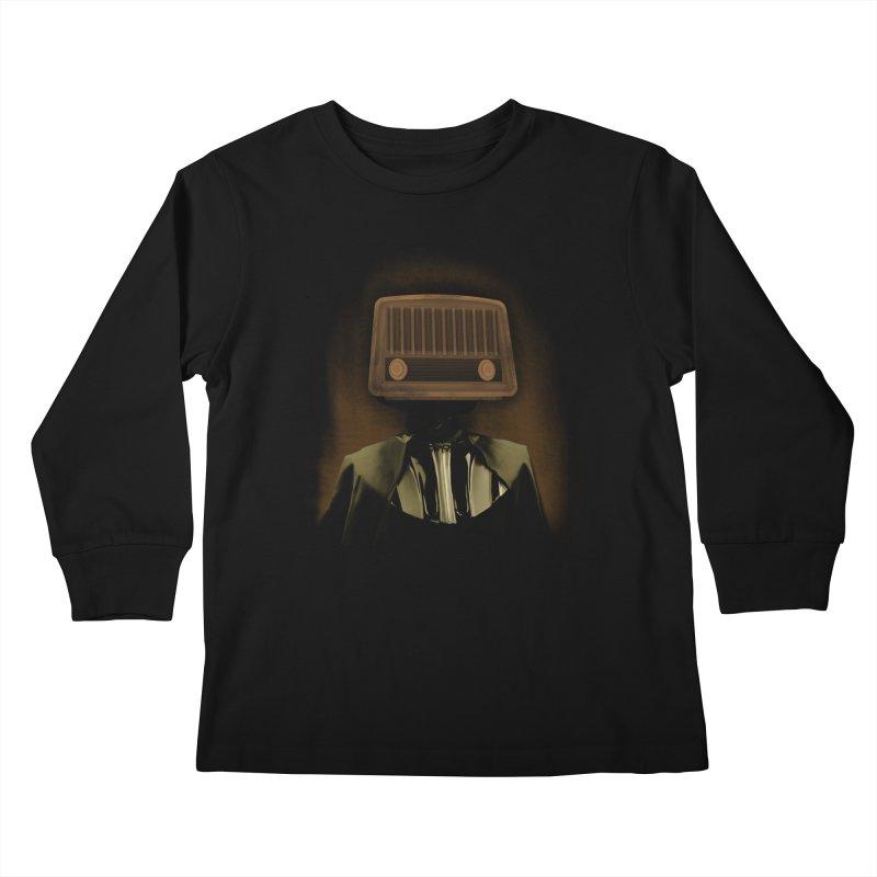 redio head Kids Longsleeve T-Shirt by SOE