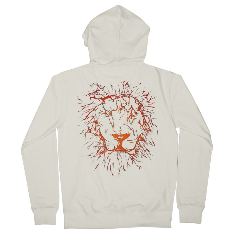 lava lion Women's French Terry Zip-Up Hoody by SOE