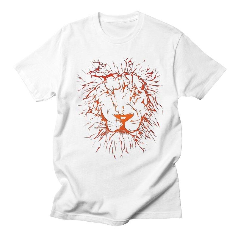 lava lion Men's T-Shirt by SOE