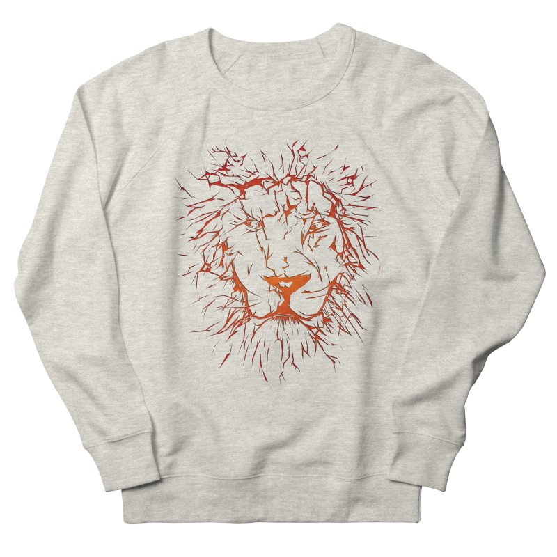 lava lion Men's Sweatshirt by SOE