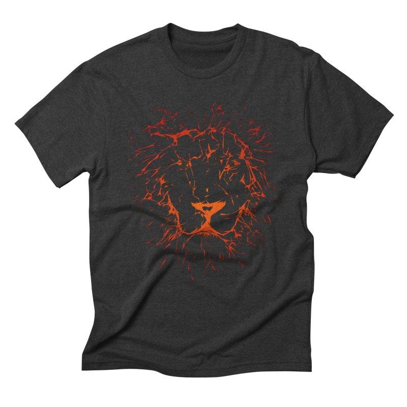 lava lion Men's Triblend T-Shirt by SOE