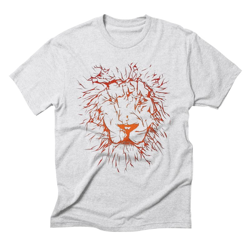 lava lion Men's T-Shirt by SOE