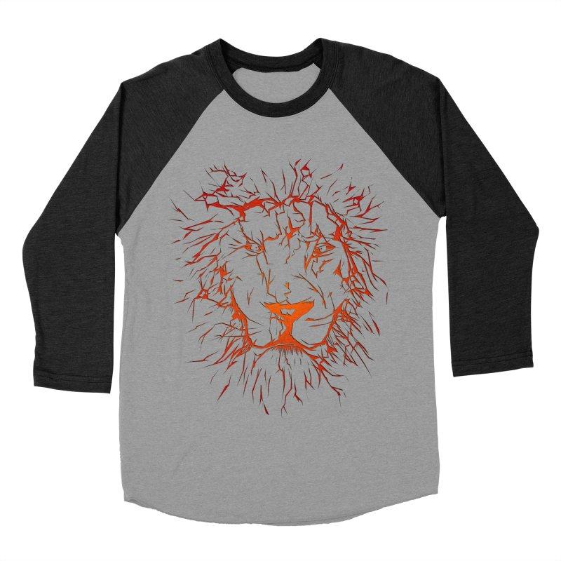 lava lion Women's Baseball Triblend Longsleeve T-Shirt by SOE