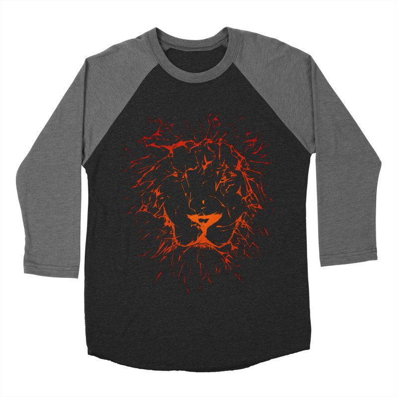 lava lion Men's Baseball Triblend T-Shirt by SOE