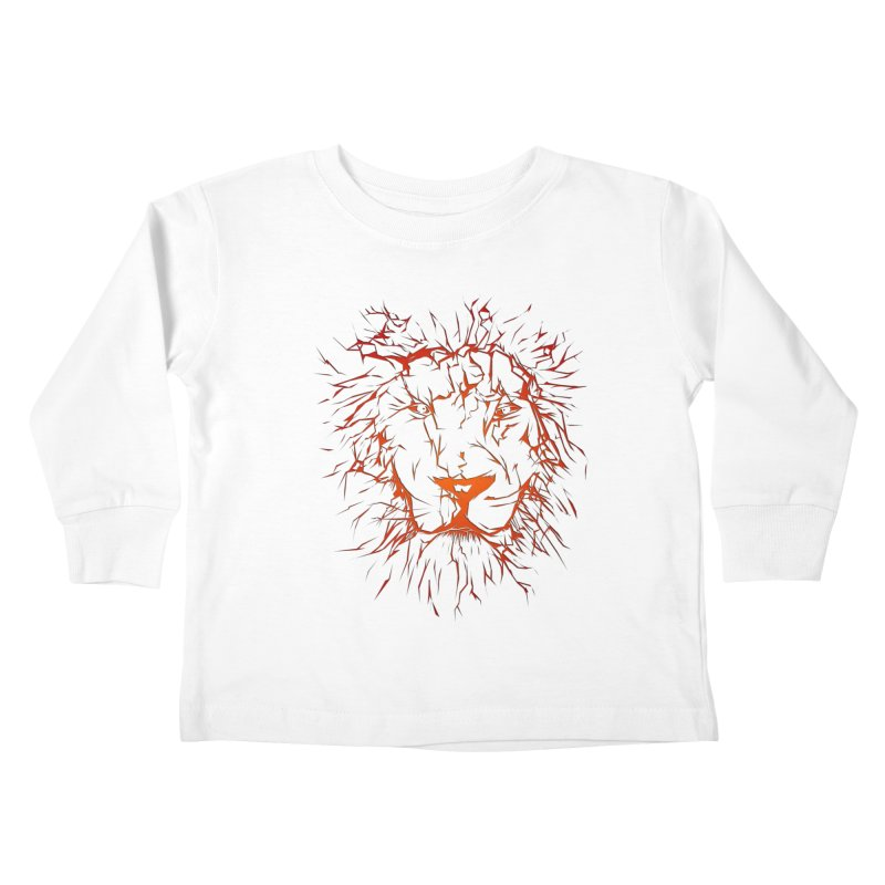 lava lion Kids Toddler Longsleeve T-Shirt by SOE