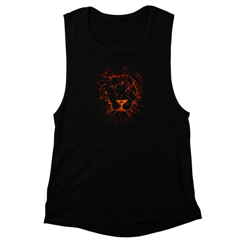 lava lion Women's Muscle Tank by SOE